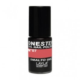 Layla One Step Gel Nail Polish smalto semipermanente -  07 RED STONE