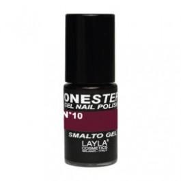 Layla One Step Gel Nail Polish smalto semipermanente -  10 RED IN BROWN