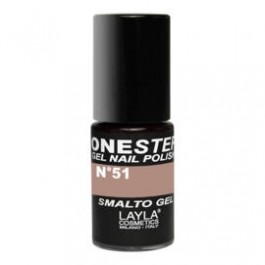 Layla One Step Gel Nail Polish smalto semipermanente -  51 CHOCO LOVE