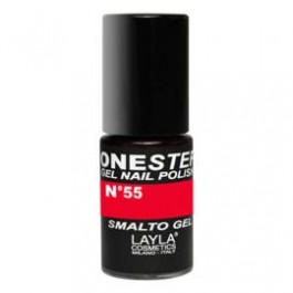 Layla One Step Gel Nail Polish smalto semipermanente -  55 RED GROOVING