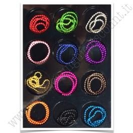 SET decorazioni nail art Catenelle Colorate