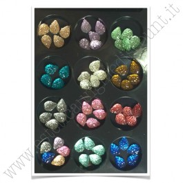 SET decorazioni nail art Gocce Colorate