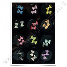 SET decorazioni nail art Fiocchetti colorati