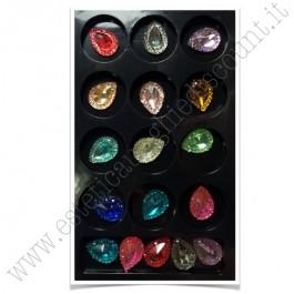 SET decorazioni nail art Gocce Grandi Color