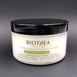 BYOTHEA crema normalizzante pelli impure e grasse viso 24 h 200 ml
