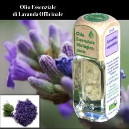 Puro olio essenziale d'origine BIOLOGICA di LAVANDA OFFICINALE (Lavandula angustifolia)