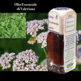 Puro olio essenziale d'origine convenzionale di VALERIANA (Valeriana officinalis).