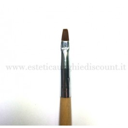 Pennello ricostruzione unghie in setola naturale n6