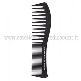 Pettine stesura maschera professionale in fibra di carbonio attiva 195x50mm