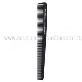 Pettine da taglio professionale in fibra di carbonio attiva 180x22mm