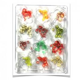 Set Fimo Frutta Nail Art