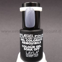 Layla Gel Polish Smalto Gel Semipermanente - 236 true grey.