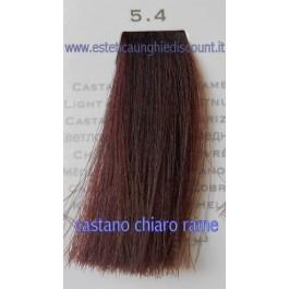 Tinta Capelli Professionale CorIng ING agli acidi di frutta da 100 ml - 5.4 CASTANO CHIARO RAME