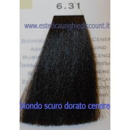 Tinta Capelli Professionale CorIng ING agli acidi di frutta da 100 ml - 6.31 BIONDO SCURO DORATO CENERE
