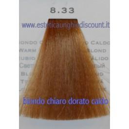 Tinta Capelli Professionale CorIng ING agli acidi di frutta da 100 ml - 8.33 BIONDO CHIARO DORATO CALDO