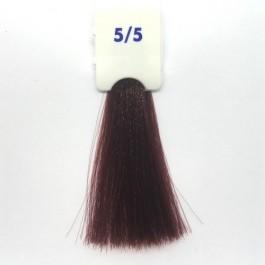 Crema Colorante INEBRYA Bionic Color senza ammoniaca Professionale Permanente 5.5 Castano Chiaro Mogano