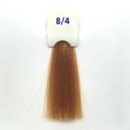 Crema Colorante INEBRYA Bionic Color senza ammoniaca Professionale Permanente 8.4 Biondo Rame