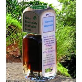 Puro olio essenziale d'origine BIOLOGICA di VETIVER (Vetiveria zizanioides)