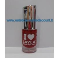 Layla Nail Polish Smalto I Love Layla  - 23 REDDY RED