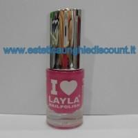 Layla Nail Polish Smalto I Love Layla  - 21 U.S. OF PINK