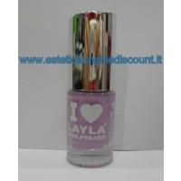 Layla Nail Polish Smalto I Love Layla  - 17 LILLY LOVE