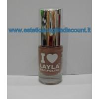Layla Nail Polish Smalto I Love Layla  - 15 MAUVY MAUVE