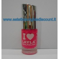 Layla Nail Polish Smalto I Love Layla  - 05 LIGHT PINK FLUO