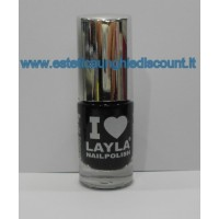 Layla Nail Polish Smalto I Love Layla - 03 BLACKY
