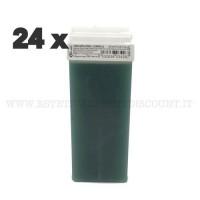 Scatola 24 Cera Liposolubile Ro.ial Rullo Cartuccia da 100 ml alla Clorofilla