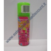 Hair Color spray colore Fluo Verde