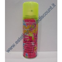 Hair Color spray colore Fluo Giallo