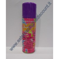 Hair Color spray colore Fluo Malva