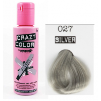 Crema Colorante Semipermanente Crazy Color n°27 Silver