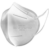 10 x Mascherina FFP2 Certificate CE EverSmart HZ KN95 Cinque Strati  FFP2 Filtri 95%