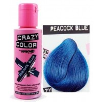 Crema Colorante Semipermanente Crazy Color n°45 Peacock Blue