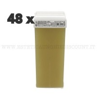 Scatola 48 Cera Liposolubile Ro.ial Rullo Cartuccia da 100 ml al Miele