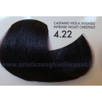 Tinta professionale senza Ammoniaca ColorIng ING - 4.22 CASTANO VIOLA INTENSO