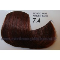 Tinta professionale senza Ammoniaca ColorIng ING - 7.4 BIONDO RAME