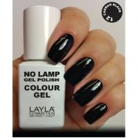 LAYLA Gel Polish NO LAMP -  12 CARBON BLACK