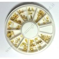 Rondella Nail Art Mare Oro