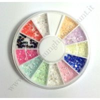 Rondella Nail Art Perline Coloratissime