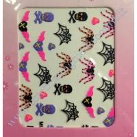 Stickers Nail Art Halloween Horror
