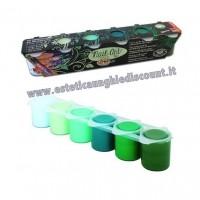 Kit 6 colori Acrilici PRIMAVERA Oksana Bilous Micropittura - Nail Art