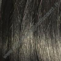 Extension Di Biase con Clips Capelli Naturali indiani colore 1B Nero