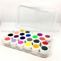 CONTENITORE VUOTO per 23 gel colorati.
