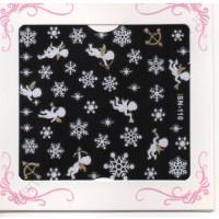 Stickers Nail Art FIOCCHI E ANGELI