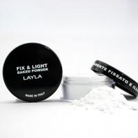Fix and Light Illuminante - Cipria in polvere fissante trasparente 01