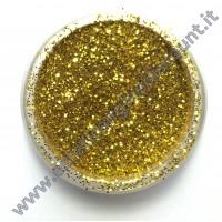 Glitter nail art ORO