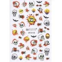 Stickers Nail Art Halloween