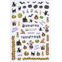 Stickers Nail Art Halloween 4